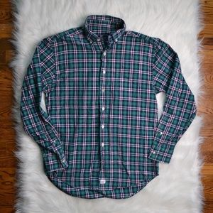 VINEYARD VINES LONG SLEEVE BUTTON DOWN PLAID SHIRT